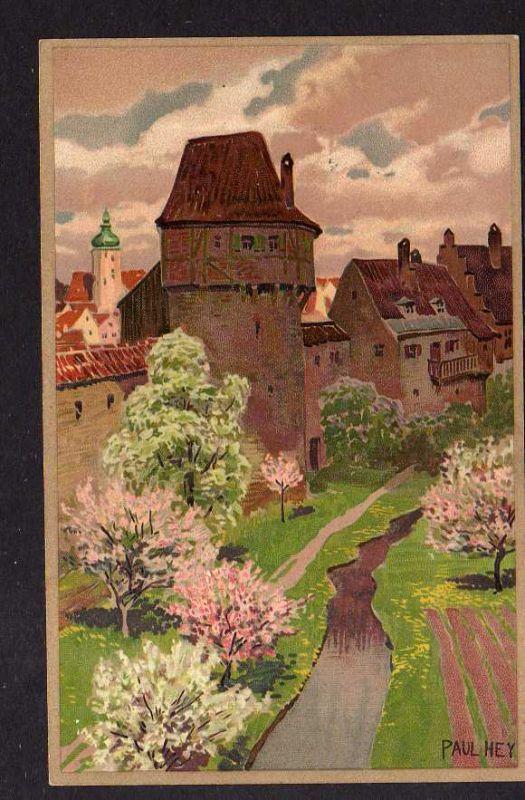 Ansichtskarte Künstlerkarte Paul Hey Wien 1909 Verlag Meissner & Buch Leipzig