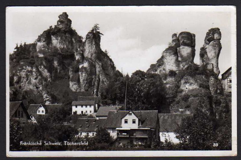 Ansichtskarte Tüchersfeld Fränkische Schweiz Pottenstein