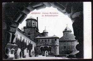 Ansichtskarte Würzburg Festung Marienberg Scherenbergertor