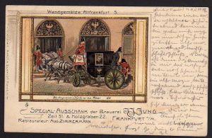 Ansichtskarte Frankfurt Main Spezial Ausschank der Brauerei