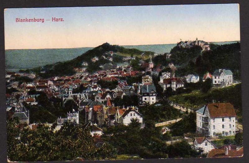 Ansichtskarte Blankenburg Harz Zahnrad Bahn Offizielle