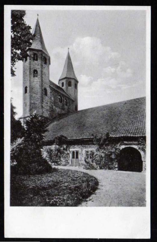 Ansichtskarte Kloster Kirche zu Drübeck a. H.