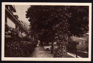 Ansichtskarte Vitznau Hotel Bellevue 1928
