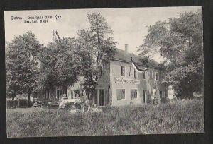 Ansichtskarte Dohna Gasthaus zum Kux Emil Bleyl