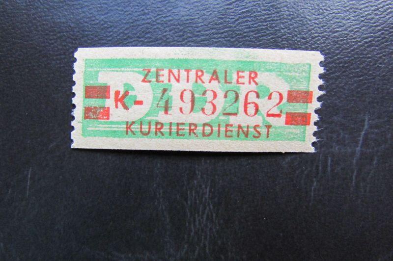 DDR ZKD Dienstmarken Wertstreifen B 31 II K ** Original !!!