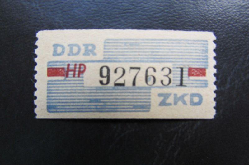 DDR ZKD Dienstmarken Wertstreifen B 28 HP ** Original !!!