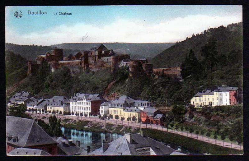 Ansichtskarte Boullion Le Chateau Nachlass Sabisch 1918