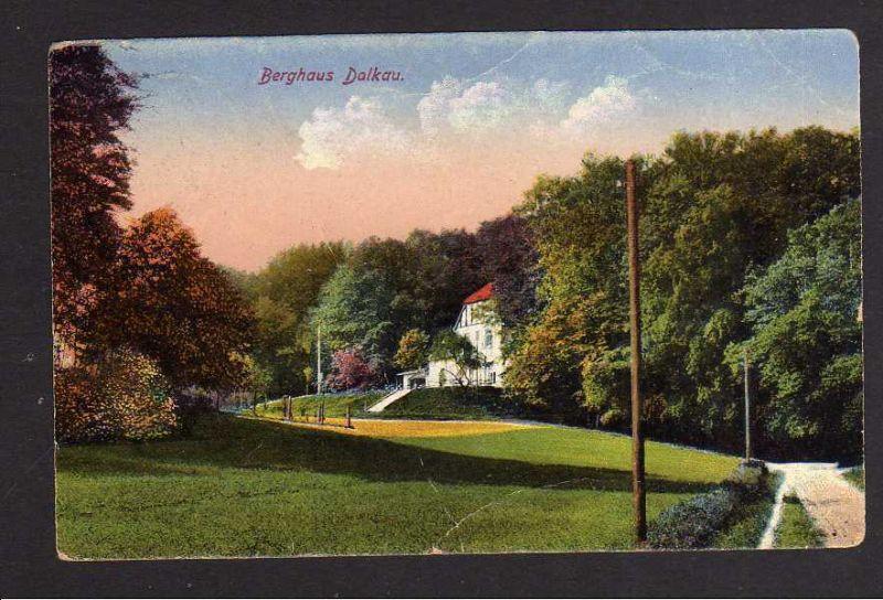 Ansichtskarte Dalkow Dalkau 1918 Berghaus bei Gaworzyce  Quaritz