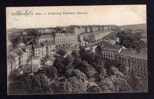 Ansichtskarte Teschen an der Olsa Erzherzog Friedrich Kaserne 1910