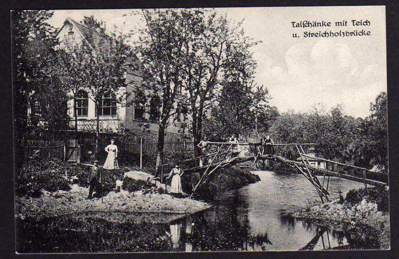 Ansichtskarte Dresden Talschänke Kaitzbachtal Haltestelle Nr. 10205 ...