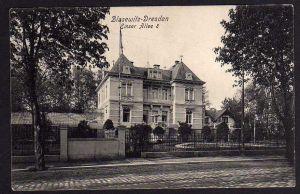 Ansichtskarte Dresden Blasewitz Emser Allee 8 Villa 1907