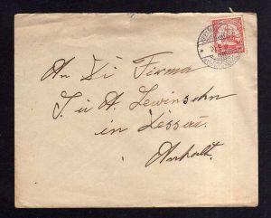 DSW Brief Keetmanshoop 1911 schöne Bedarfspost Deutsch Südwestafrika <p>
