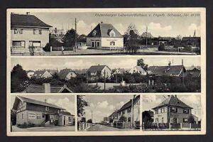Ansichtskarte Blutenburg München Obermenzing 1936 Gasthaus Bierstübl Bäckerei Lebensm