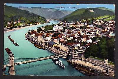 Ansichtskarte Děčín Tetschen Bodenbach 1912 Stempel In Österreich eingeliefert