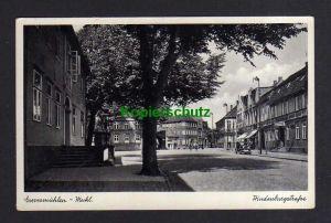 Ansichtskarte Grevesmühlen Meckl. 1940  Hindenburgstraße