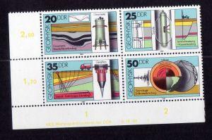 DDR 1980 2557 - 2560 DV FN 1 **  Geophysik