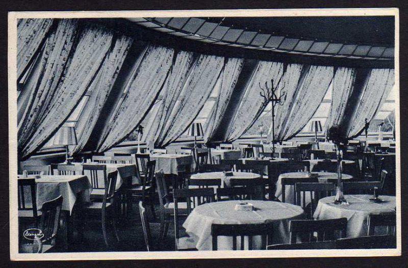 Ansichtskarte Dresden Cafe Resturant Kugelhaus Innenansicht