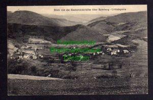 Ansichtskarte Blick von der Kesternicherhöhe Ruhrberg Urfttalsperre Zensur Malmedy