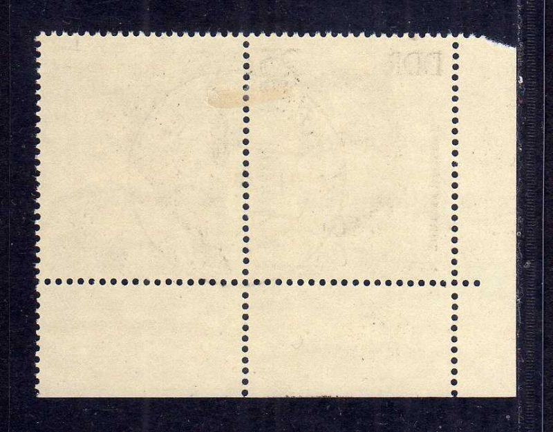DDR 1962 962 gestempelt Eisenach Ersttag DV 4 und Farbbalken 1