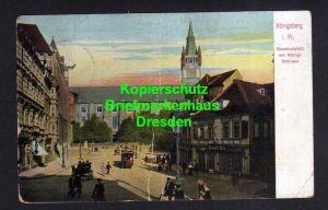 Ansichtskarte Königsberg Opr. 1909 Gesekusplatz Schloss