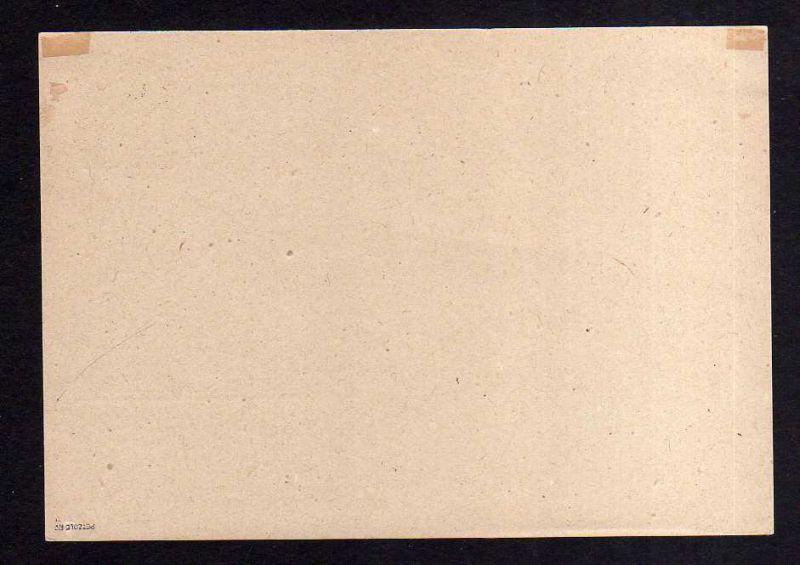 h971 Handstempel Bezirk 14 Dresden Ganzsache AS 10 Pfg. Bautzen 2a blauschwarz H 1