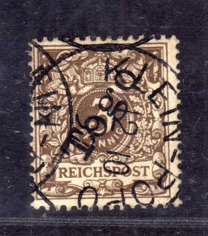B1374 Togo 1d gestempelt Fotoattest Jäschke Lantelme BPP seltenste Farbe ideal g