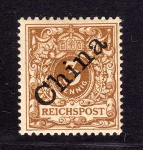 B1366 Deutsche Post in China 1 I * geprüft Jäschke Lantelme BPP