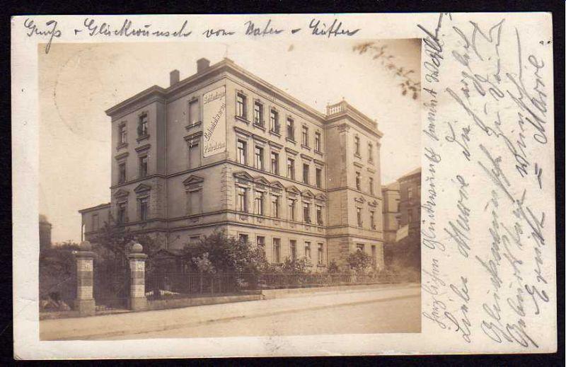 Ansichtskarte Erfurt 1908 Colonialwaren Petroleum Seiffe