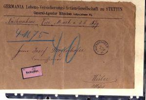 S113 20 Briefe / Karten Stettin Nachnahme Frei durch Ablösung Feldpost Kriegssch