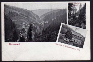 Ansichtskarte Dürrenwaid Gasthaus Dürrenwaider Tal Prinz