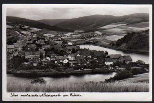 Ansichtskarte Niederwerbe über Korbach Landpoststempel