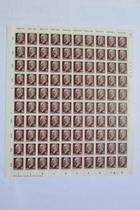 DDR 1963 Bogen Ulbricht 70 Pf. Mi. 938 Z XI ** mit Druckvermerk DV und DKZ