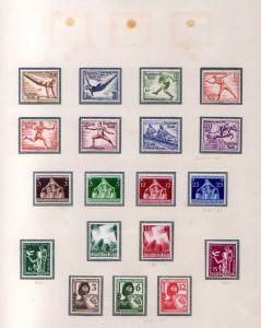 S67 DR Deutsches Reich Jahrgang 1936 bis 1945 * Falz 603 - 908 + Dienstmarken au
