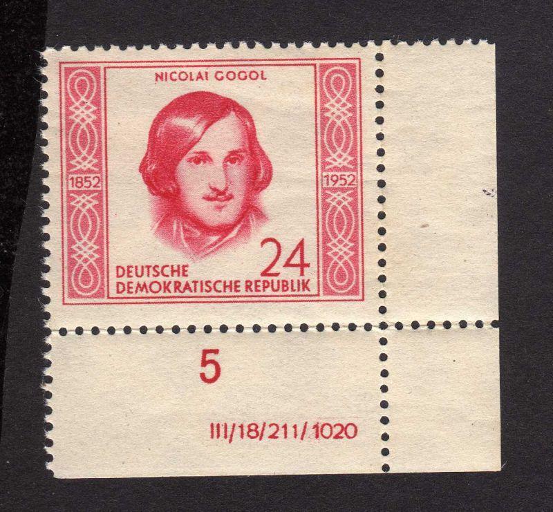 DDR 313 Nikolaj Gogol ** DV gefalten