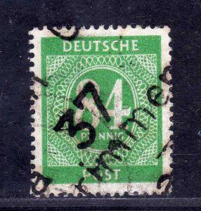 h2441 Handstempel Bezirk 37 31a Grimmen Ziffer 84 gestempelt gepr. Lieder BPP