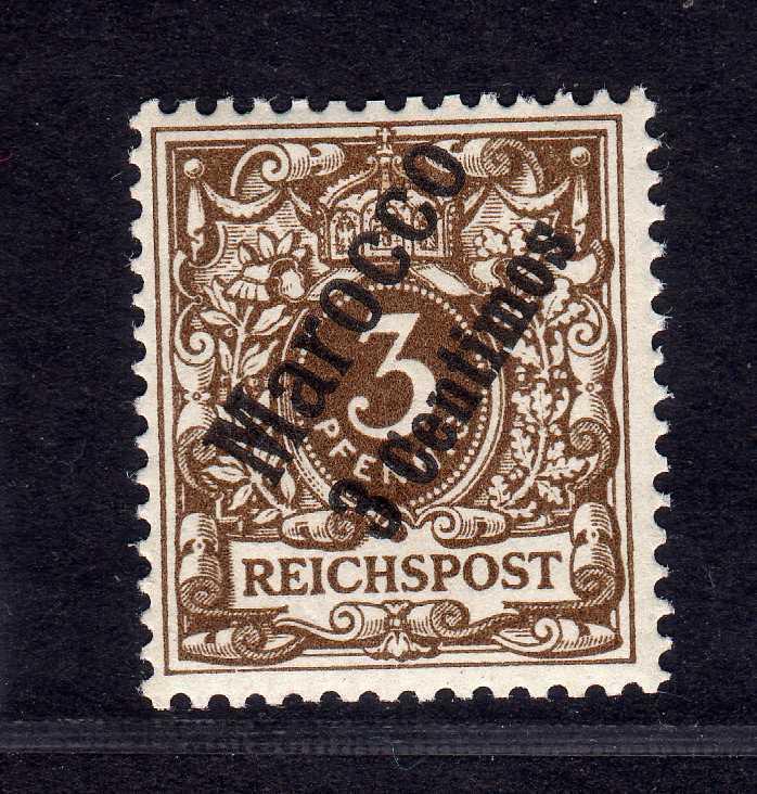 B2190 Deutsche Post in Marokko 1 ** postfrisch