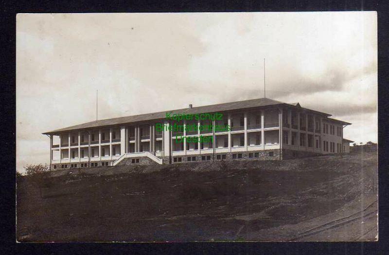 Ansichtskarte DSW Windhuk markantes Gebäude Fotokarte Verlag R. Wywias um 1910