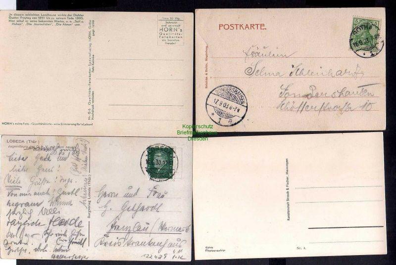 4 Ansichtskarte Gotha beim Bahnhof mit Hotel Herzog Ernst 1903 Siebleben Gustav Frey 1
