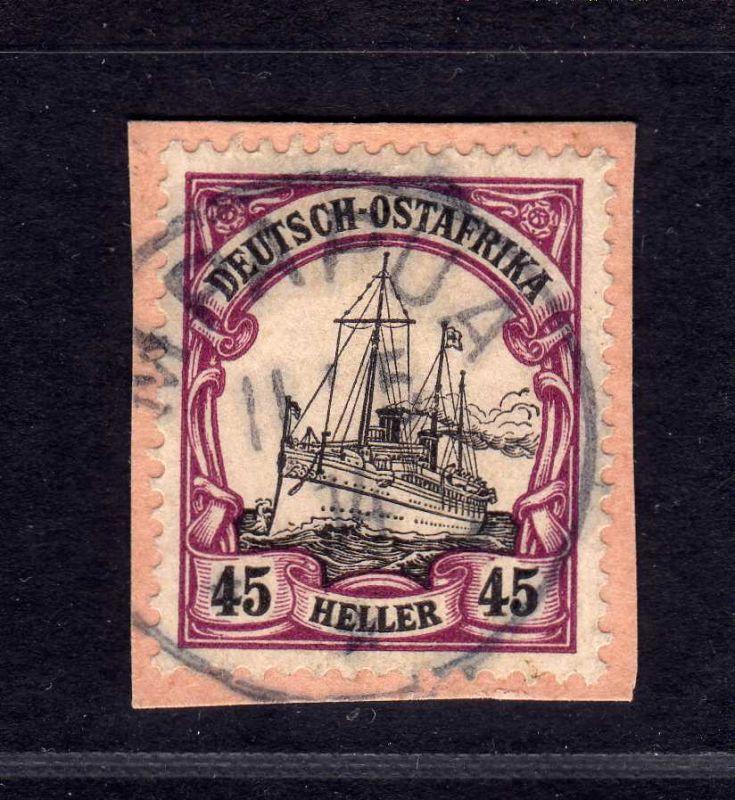 B1749 DOA Briefstück Postanweisungsabschnitt Mpapua