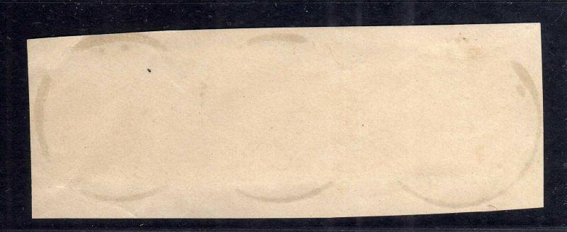 B1743 DOA 3x 4 gestempelt Briefstück Dar-Es-Salaam 23.5. 1896 Dreierstreifen 1