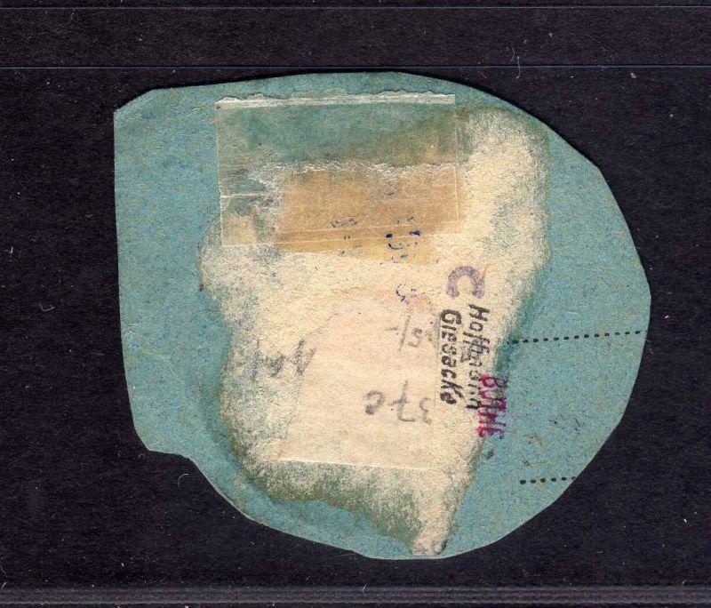 B1727 DP in der Türkei Postanweisungsabschnitt V 37c  Constantinopel 1 gepr. Bot 1