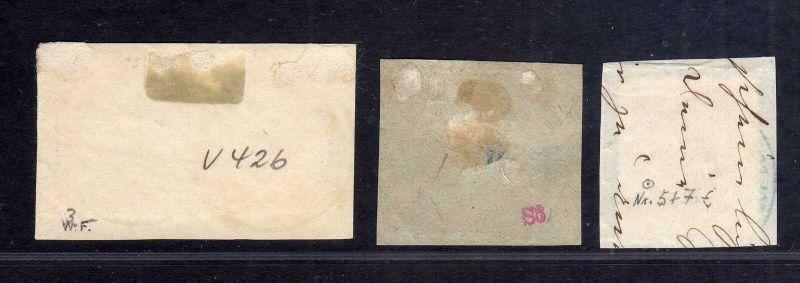 B1726 DP in der Türkei 3x Briefstück mit 3x V42, V41 1x KDP Constantinopel mit K 1