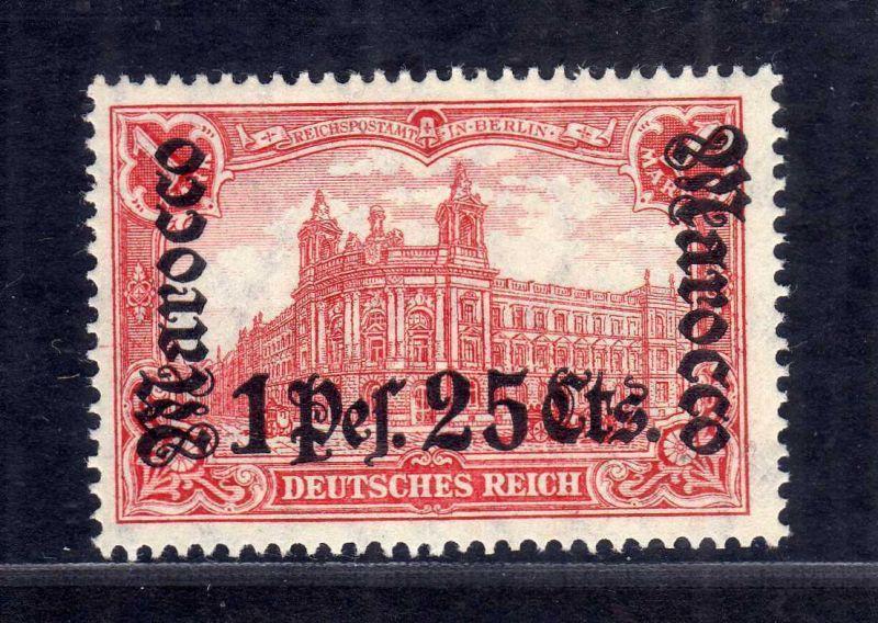 B2205 Deutsche Post in Marokko 43 ** postfrisch Mi. 220.--