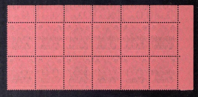 B2173 Deutsche Post in China 12x 43 ** postfrisch Oberrand 1`4`1 / 2´3`2 und 5x 1
