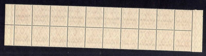 B2200 Deutsche Post in Marokko 20x 36 ** postfrisch Bogenteil Mi. 360.- 1