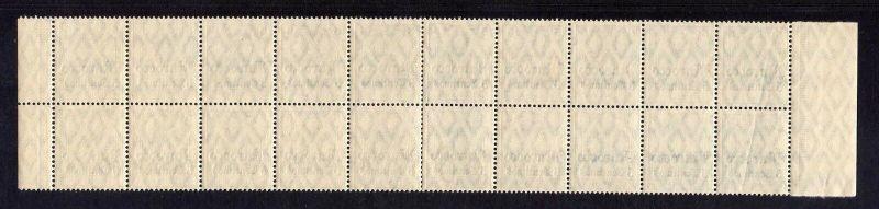 B2199 Deutsche Post in Marokko 20x 35 ** postfrisch Bogenteil Mi. 360.- 1