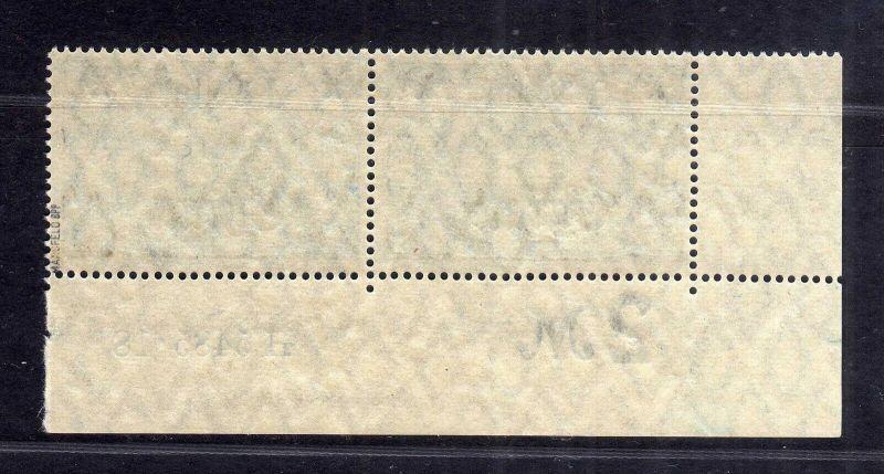 B2182 Deutsche Post in China 2x 45 II BM ** postfrisch HAN H 5485.18 Plattennumm 1