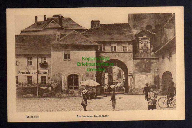 Ansichtskarte Bautzen Am Inneren Reichentor um 1930 Produkten Börse 0