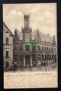 Ansichtskarte Stolp i. Pom. 1899 Kais. Hauptpostamt