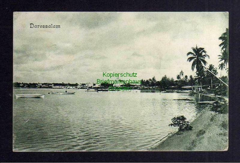 Ansichtskarte Daressalam Deutsch Ostafrika 1908 Verlag Dobbertin No. 108